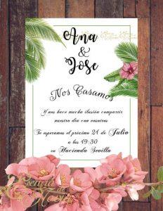 Descarga regalo papelería boda